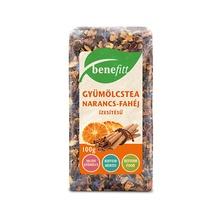 BENEFITT gyümölcstea narancs-fahéj ízesítésű 100g