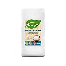 BENEFITT Himalája só fehér finomszemcsés 500g